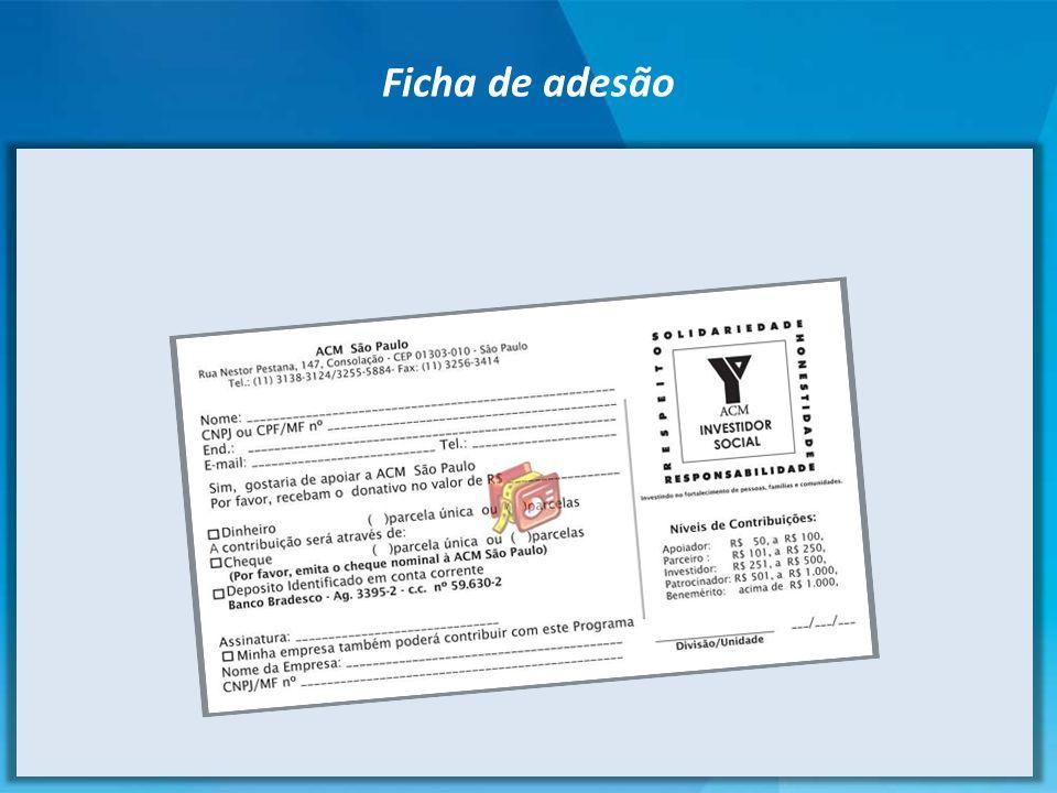 Ficha de adesão