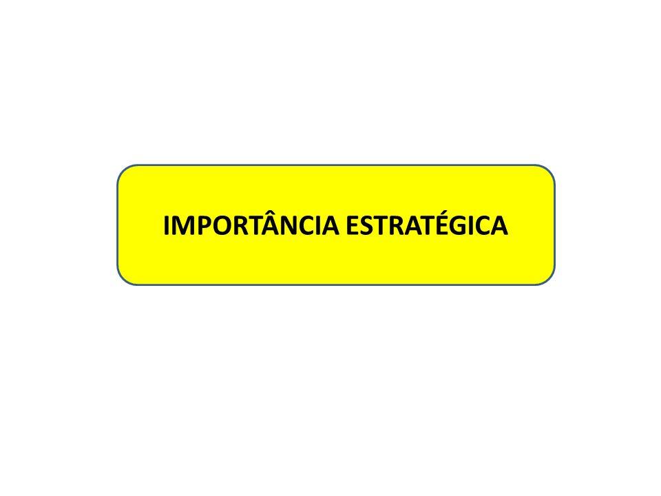 IMPORTÂNCIA ESTRATÉGICA