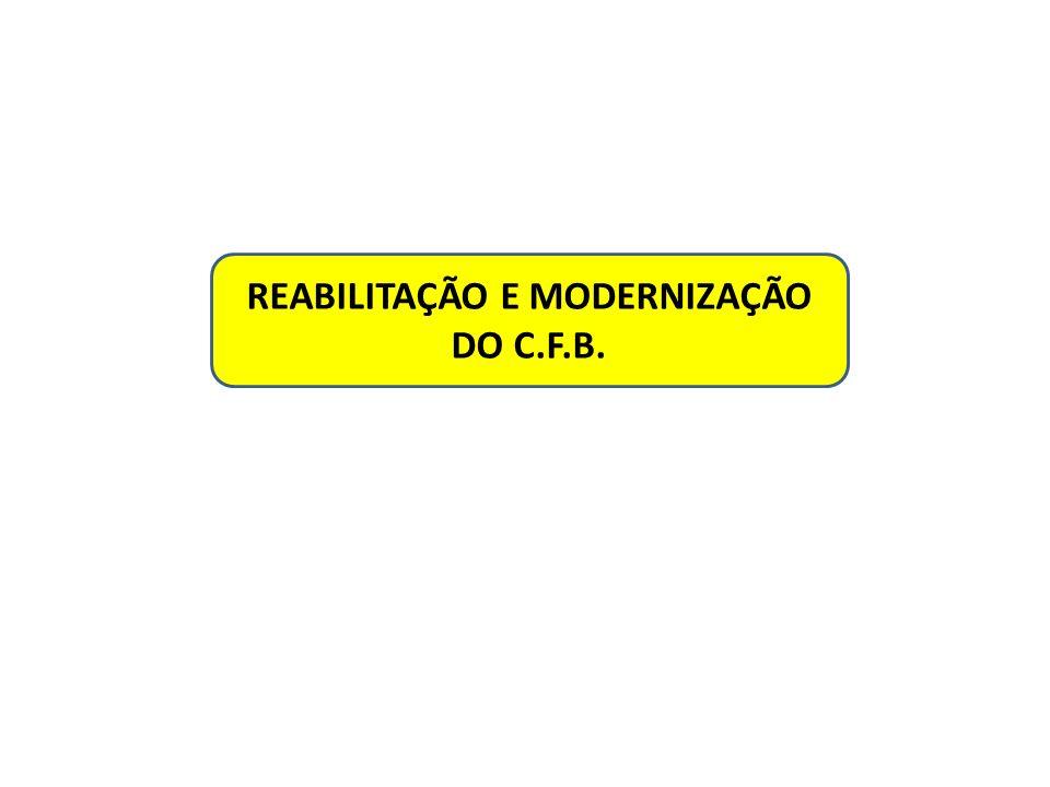REABILITAÇÃO E MODERNIZAÇÃO DO C.F.B.
