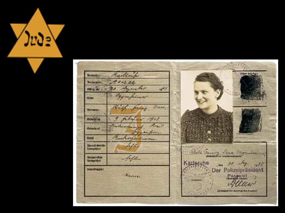 Felix Nussbaum, Self-Portrait with Jewish Identity Card, 1942