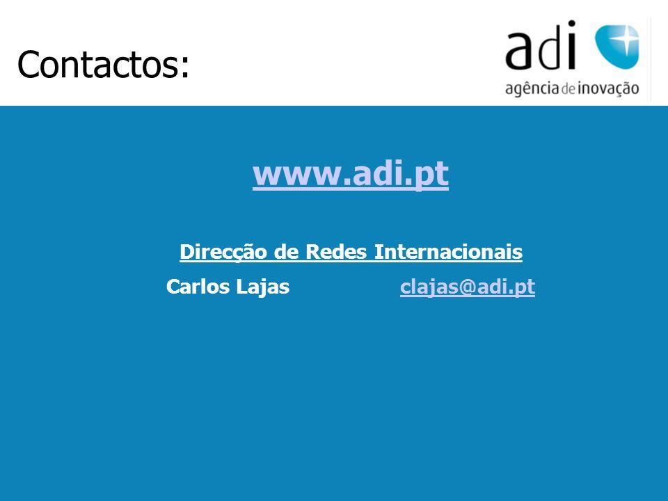 Click to edit Master text styles Second level Third level Fourth level Fifth level 13 www.adi.pt Direcção de Redes Internacionais Carlos Lajasclajas@a