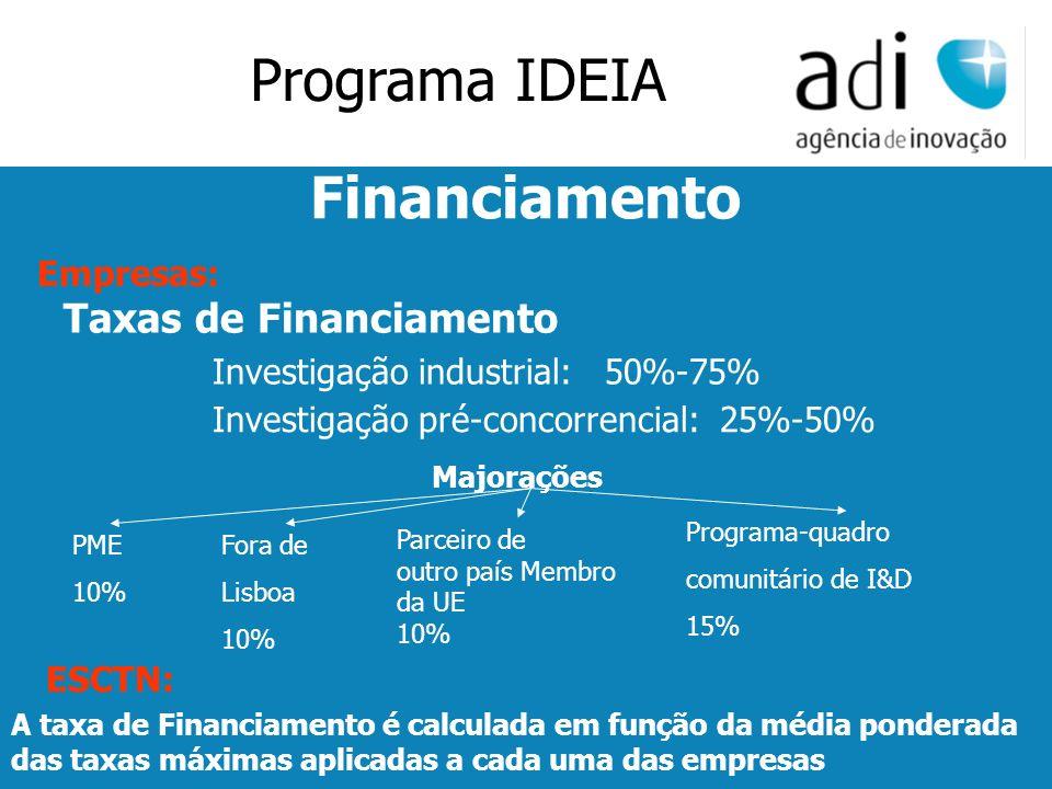 Click to edit Master text styles Second level Third level Fourth level Fifth level 27 PME 10% Majorações Fora de Lisboa 10% Parceiro de outro país Mem