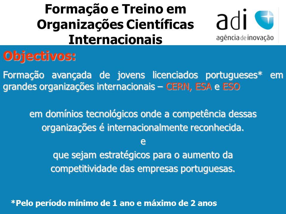 Click to edit Master text styles Second level Third level Fourth level Fifth level 36 Objectivos: Formação avançada de jovens licenciados portugueses*