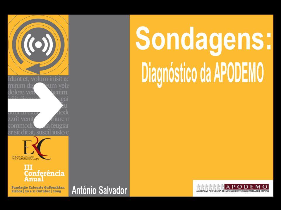12 ERC   III Conferência Anual, 2009   António Salvador Os resultados das sondagens influenciam o eleitor.