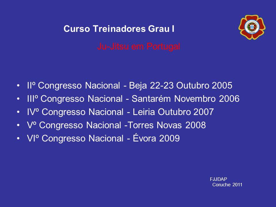 IIº Congresso Nacional - Beja 22-23 Outubro 2005 IIIº Congresso Nacional - Santarém Novembro 2006 IVº Congresso Nacional - Leiria Outubro 2007 Vº Cong
