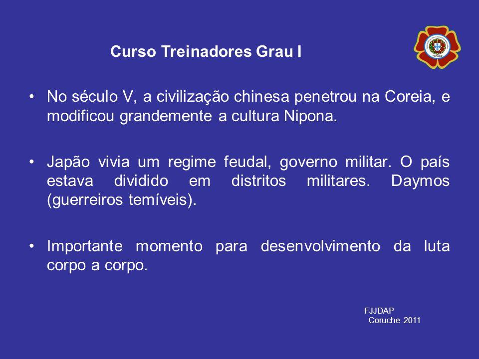 No século V, a civilização chinesa penetrou na Coreia, e modificou grandemente a cultura Nipona. Japão vivia um regime feudal, governo militar. O país