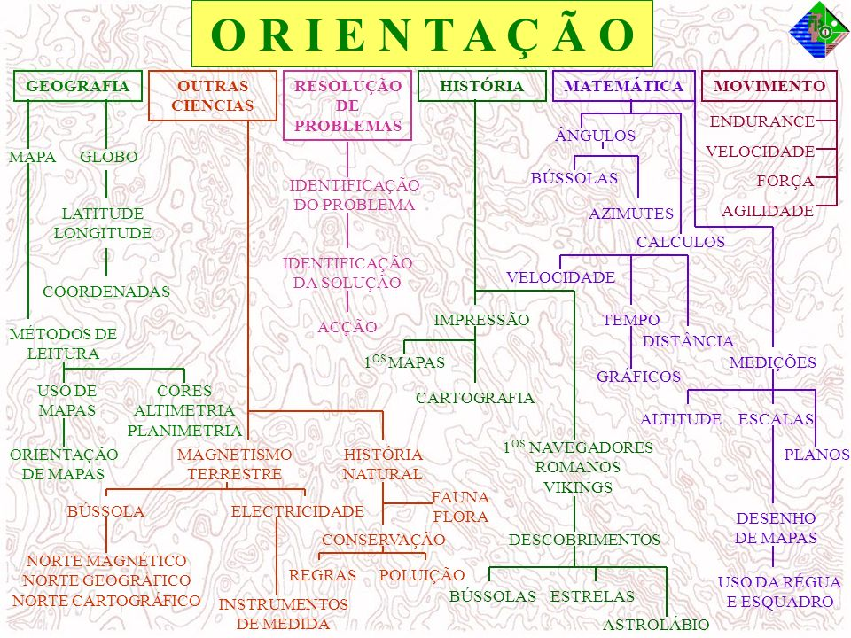 ORIENTAÇÃO PEDESTRE ORIENTAÇÃO EM BTT TRAIL ORIENTEERING SKI ORIENTEERING Vertente Competitiva