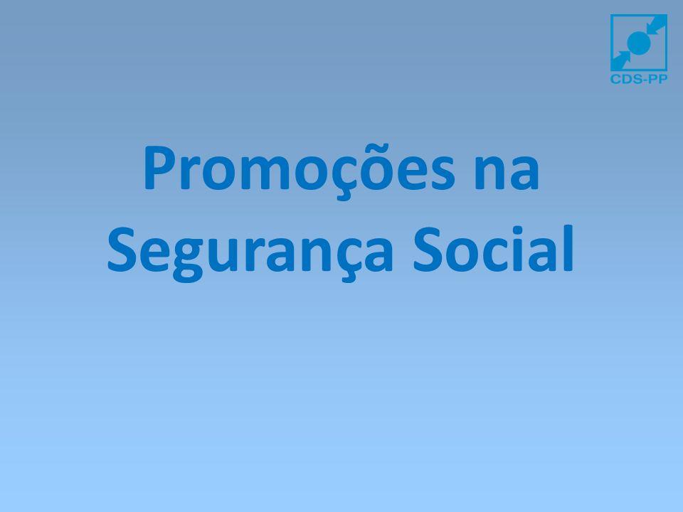 Promoções na Segurança Social