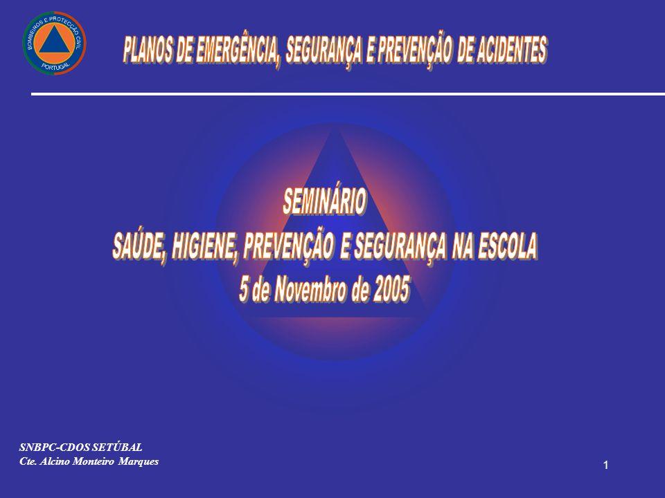 1 SNBPC-CDOS SETÚBAL Cte. Alcino Monteiro Marques