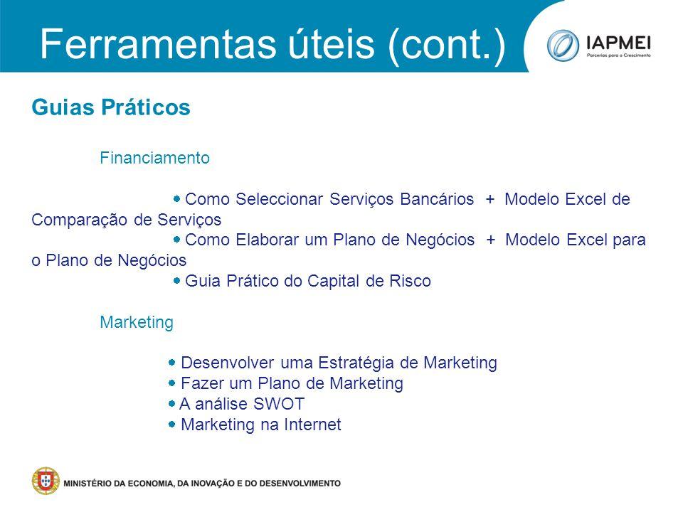Workshop 6: Plano de Negócios para as Indústrias Criativas PORTUGAL CRIATIVO Porto, 18 de Junho de 2011 Guias Práticos Financiamento Como Seleccionar