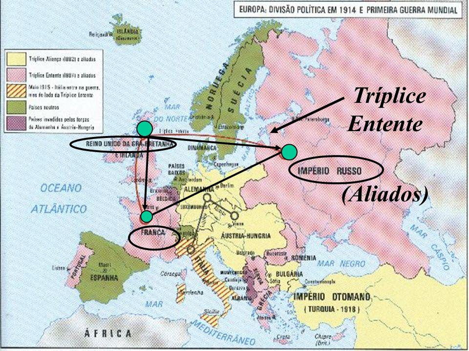 Tríplice Entente (Aliados)