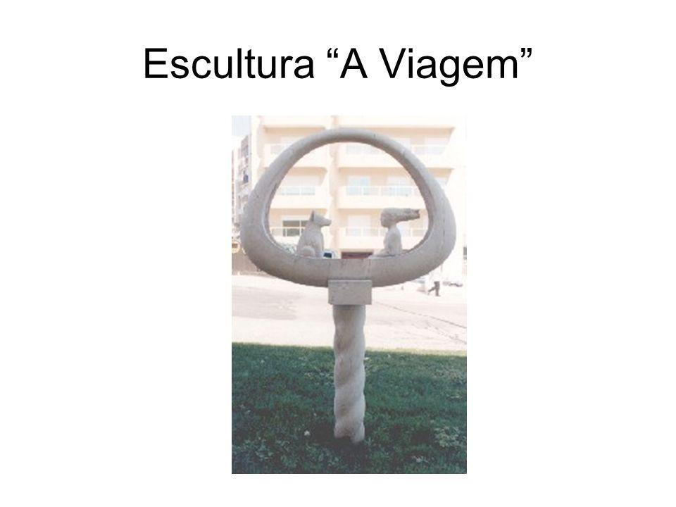 Escultura A Viagem