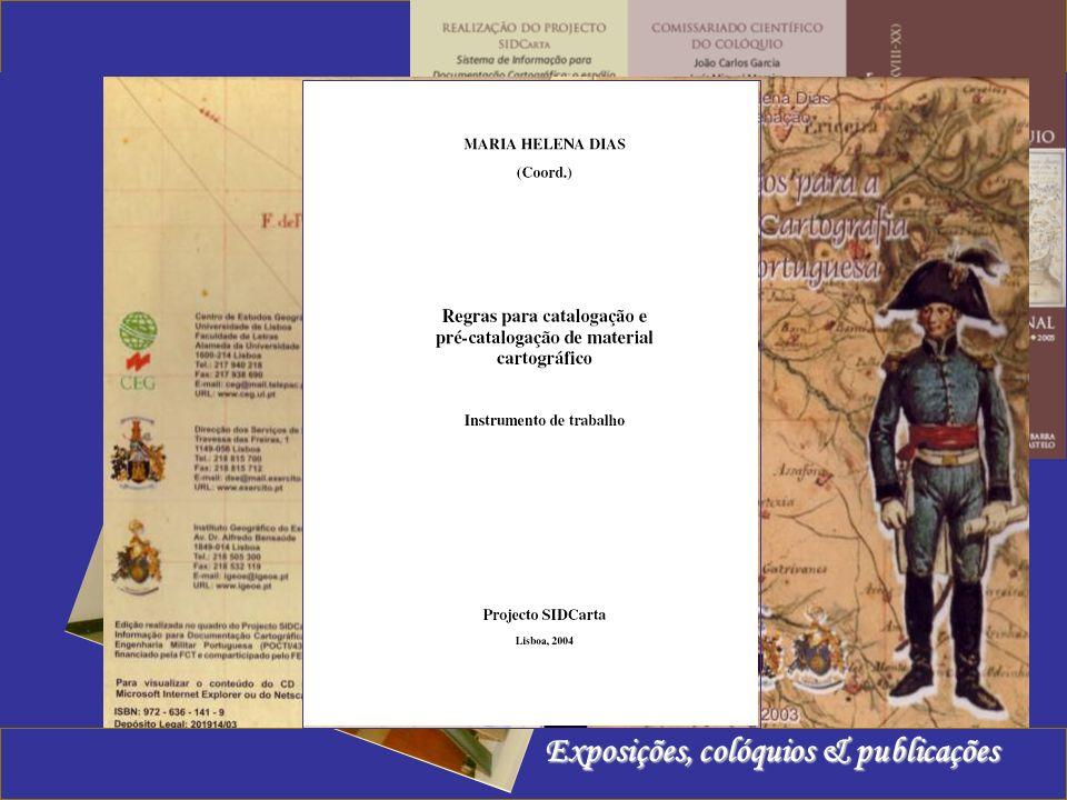 Exposições, colóquios & publicações