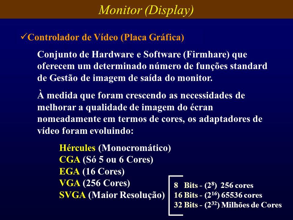 Conjunto de Hardware e Software (Firmhare) que oferecem um determinado número de funções standard de Gestão de imagem de saída do monitor. À medida qu