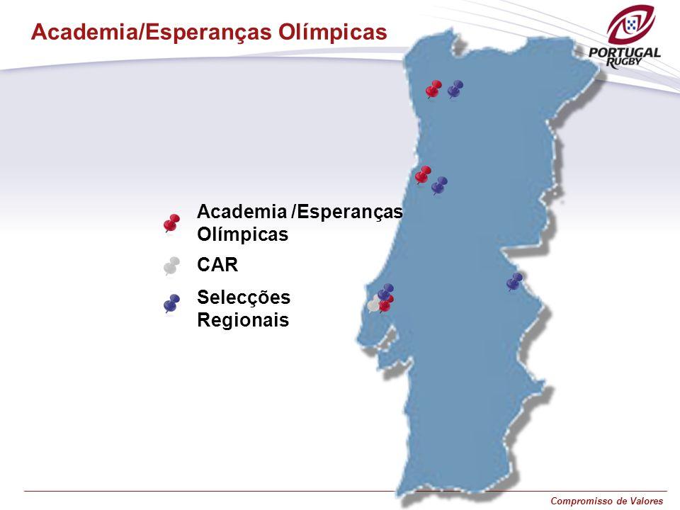 Compromisso de Valores Academia/Esperanças Olímpicas CAR Academia /Esperanças Olímpicas Selecções Regionais