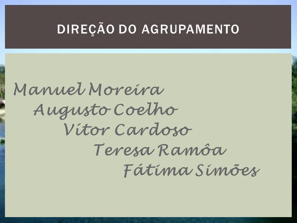 Manuel Moreira Augusto Coelho Vítor Cardoso Teresa Ramôa Fátima Simões DIREÇÃO DO AGRUPAMENTO