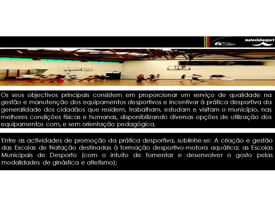 A Matosinhos Sport é uma empresa municipal de gestão de equipamentos desportivos e de lazer, com património próprio e dotada de personalidade jurídica