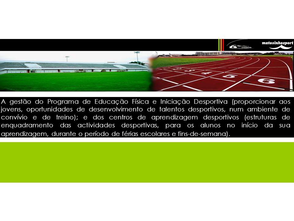 Os seus objectivos principais consistem em proporcionar um serviço de qualidade na gestão e manutenção dos equipamentos desportivos e incentivar à prá