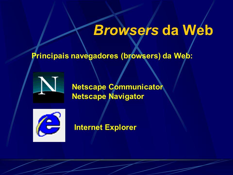 Pesquisar na Web Motores de Busca: http://www.altavista.digital.com http://www.yahoo.com http://www.infoseek.com http://www.excite.com http://www.lycos.com