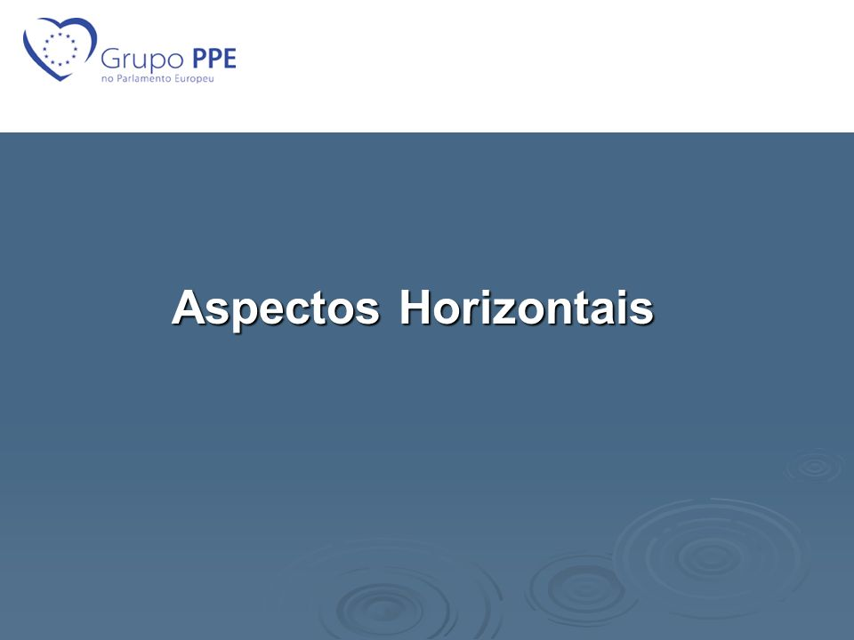 Aspectos Horizontais