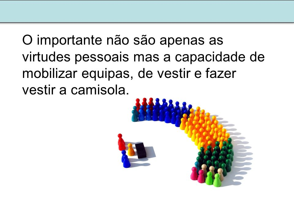 Existe um efeito multiplicador, em termos de resultados da ação quando reunida e organizada.