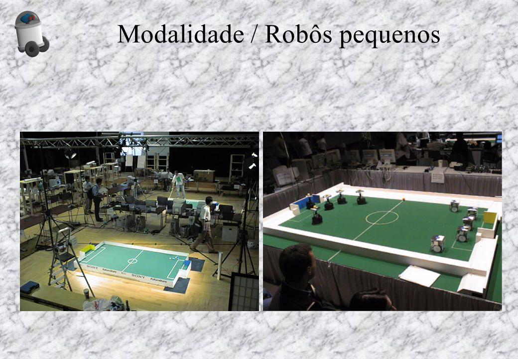 Modalidade / Robôs pequenos