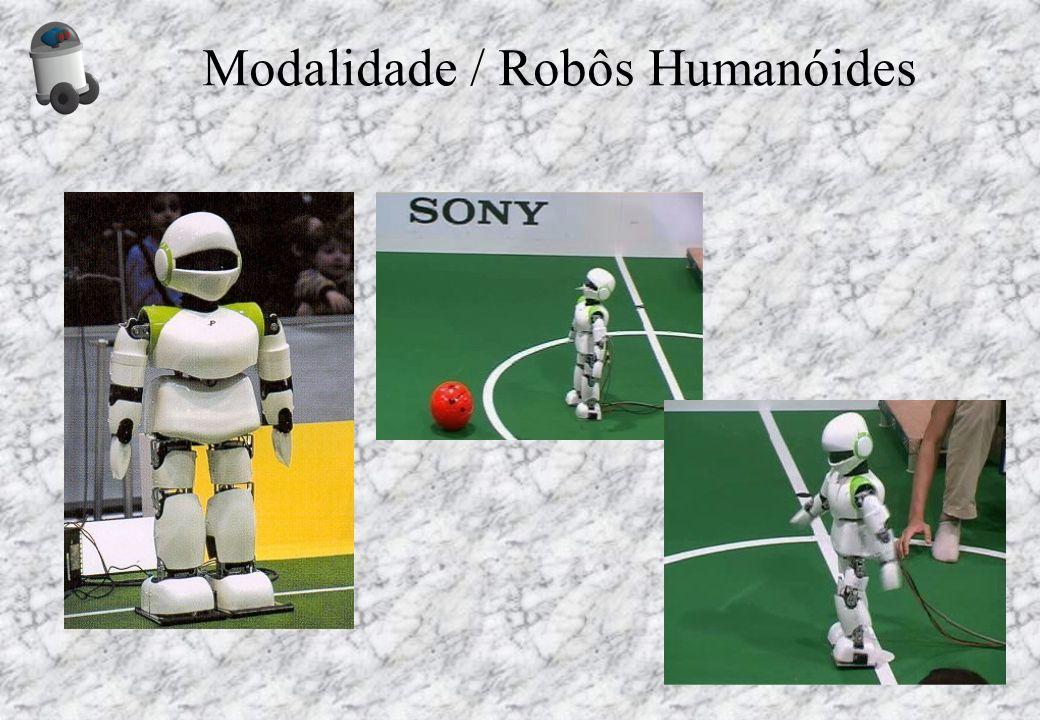 Modalidade / Robôs Humanóides