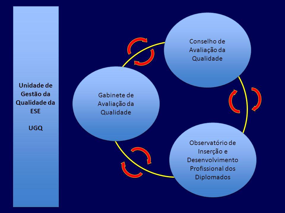 Conselho de Avaliação da Qualidade Observatório de Inserção e Desenvolvimento Profissional dos Diplomados Gabinete de Avaliação da Qualidade Unidade d