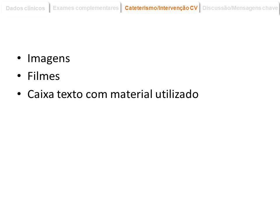 Discussão dos aspectos interessantes/didacticos do caso clinicos e mensagens principais.