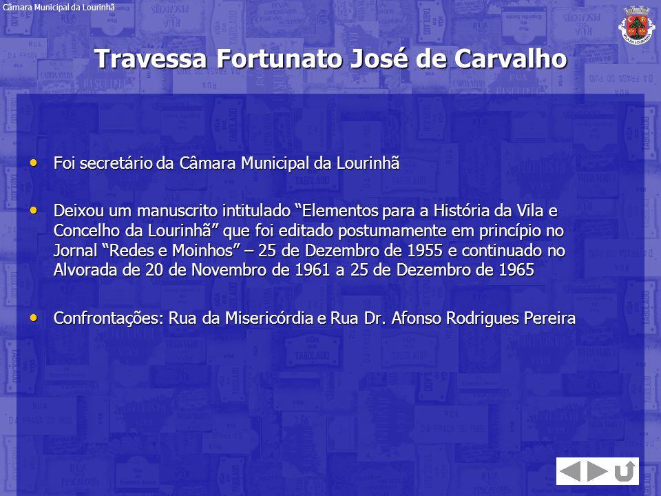 Foi secretário da Câmara Municipal da Lourinhã Foi secretário da Câmara Municipal da Lourinhã Deixou um manuscrito intitulado Elementos para a Históri