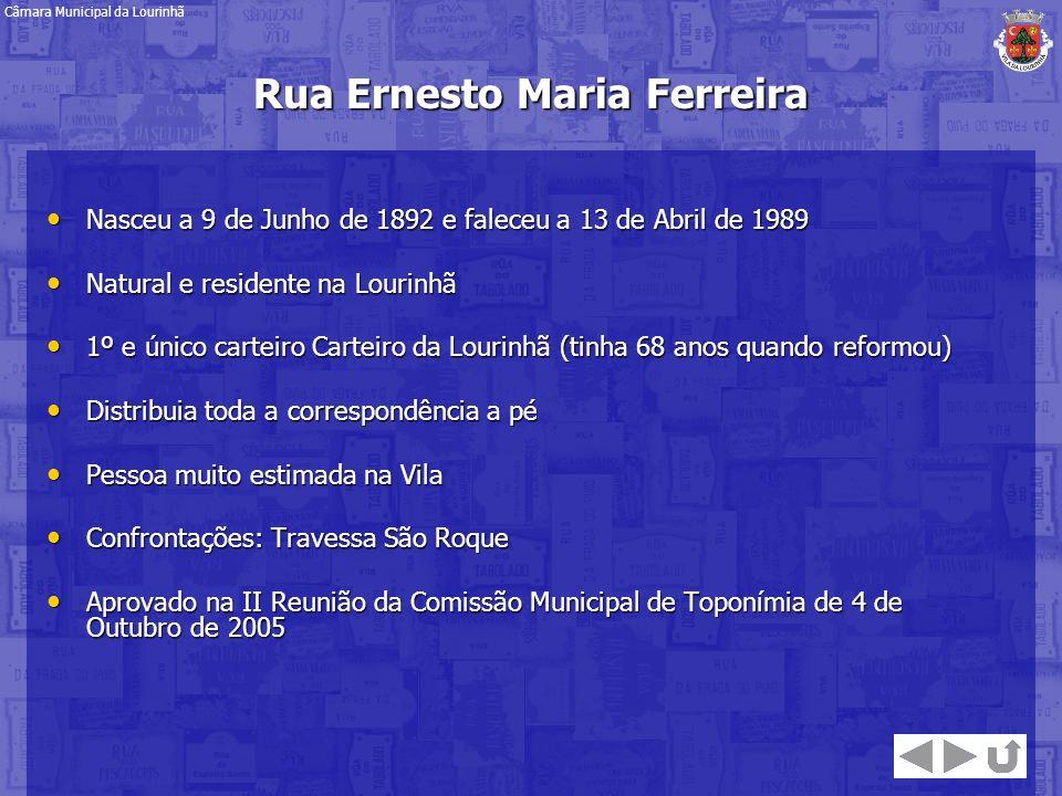 Nasceu a 9 de Junho de 1892 e faleceu a 13 de Abril de 1989 Nasceu a 9 de Junho de 1892 e faleceu a 13 de Abril de 1989 Natural e residente na Lourinh