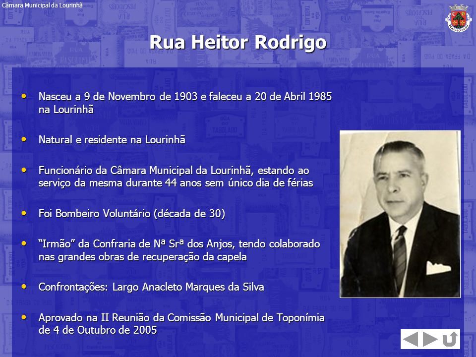 Nasceu a 9 de Novembro de 1903 e faleceu a 20 de Abril 1985 na Lourinhã Nasceu a 9 de Novembro de 1903 e faleceu a 20 de Abril 1985 na Lourinhã Natura
