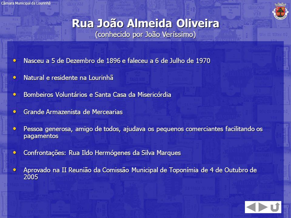 Nasceu a 5 de Dezembro de 1896 e faleceu a 6 de Julho de 1970 Nasceu a 5 de Dezembro de 1896 e faleceu a 6 de Julho de 1970 Natural e residente na Lou