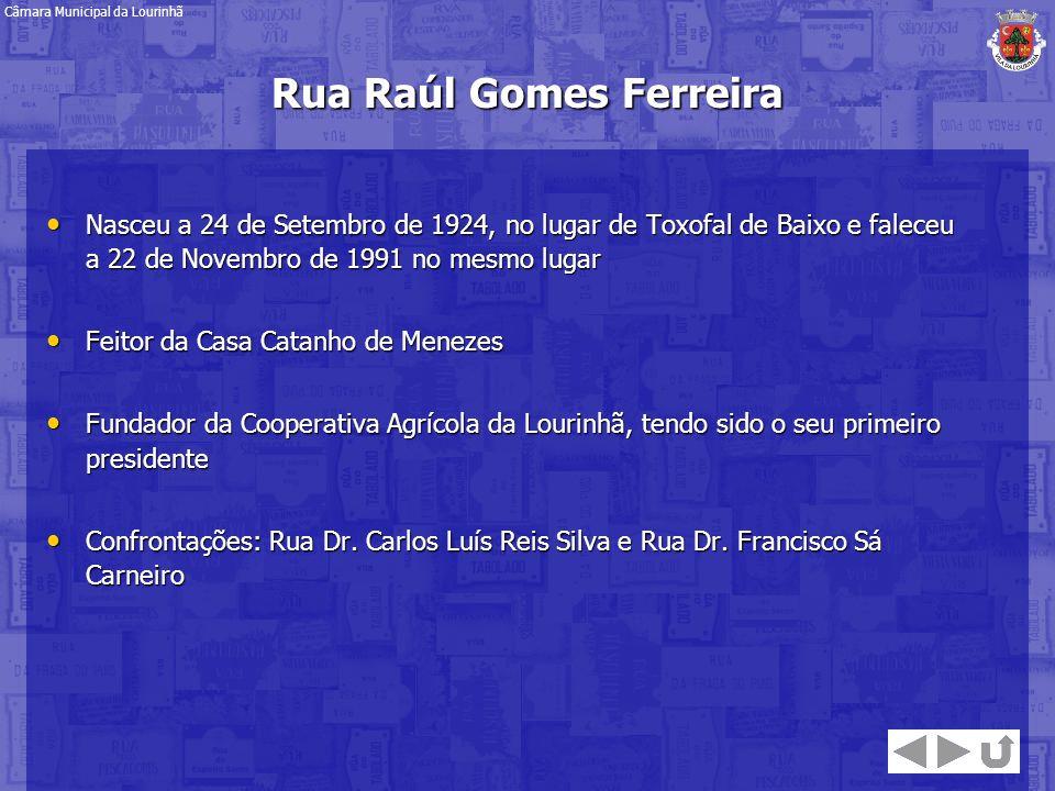 Nasceu a 24 de Setembro de 1924, no lugar de Toxofal de Baixo e faleceu a 22 de Novembro de 1991 no mesmo lugar Nasceu a 24 de Setembro de 1924, no lu