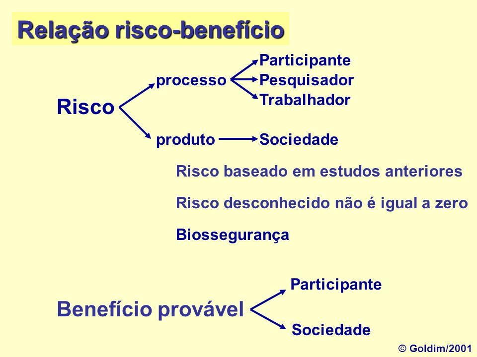 ParticipantePesquisador TrabalhadorSociedade Respeito à Pessoa © Goldim/2001