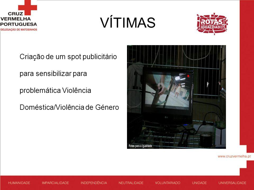 VÍTIMAS Criação de um spot publicitário para sensibilizar para problemática Violência Doméstica/Violência de Género
