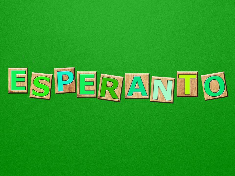O esperanto é uma língua internacional planejada, falada por cerca de 2 milhões de pessoas. Todos dizem que o esperanto é muito fácil e 10 X mais rápi
