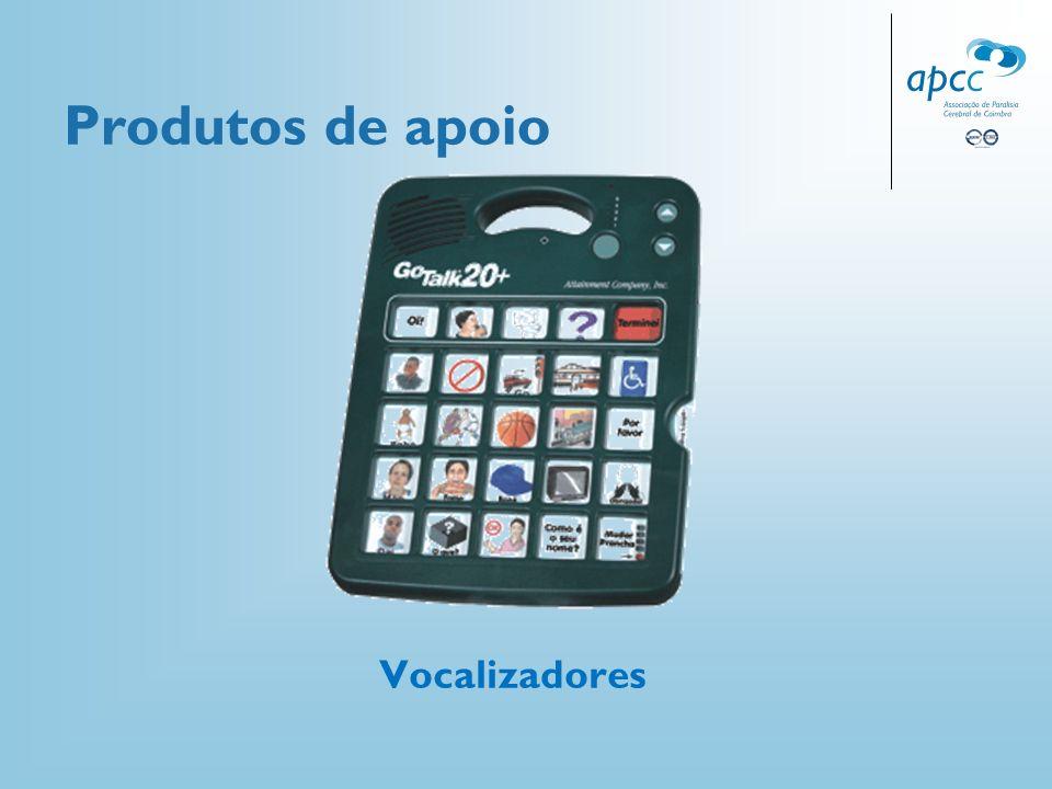 Produtos de apoio Vocalizadores