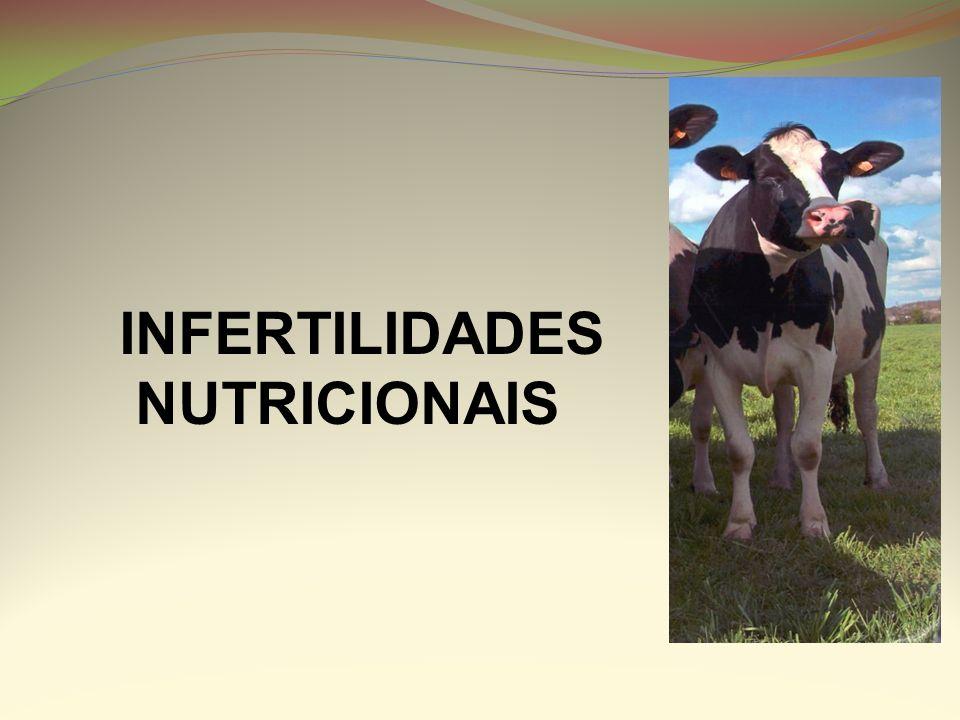 INFERTILIDADES NUTRICIONAIS