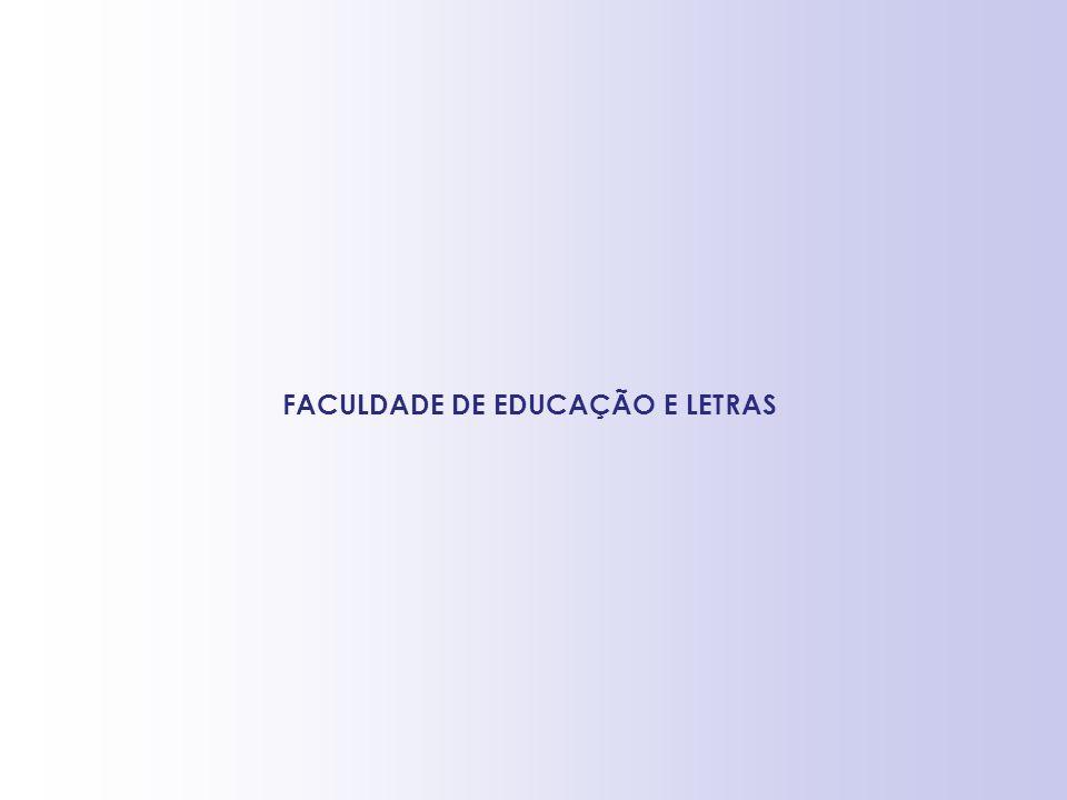 FACULDADE DE EDUCAÇÃO E LETRAS