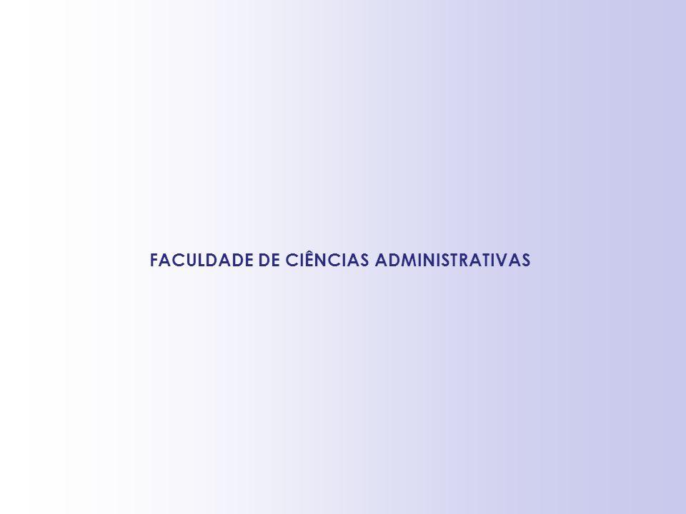 FACULDADE DE CIÊNCIAS ADMINISTRATIVAS