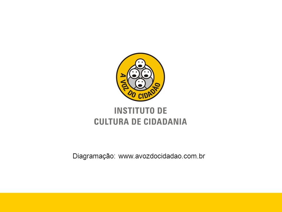 Diagramação: www.avozdocidadao.com.br