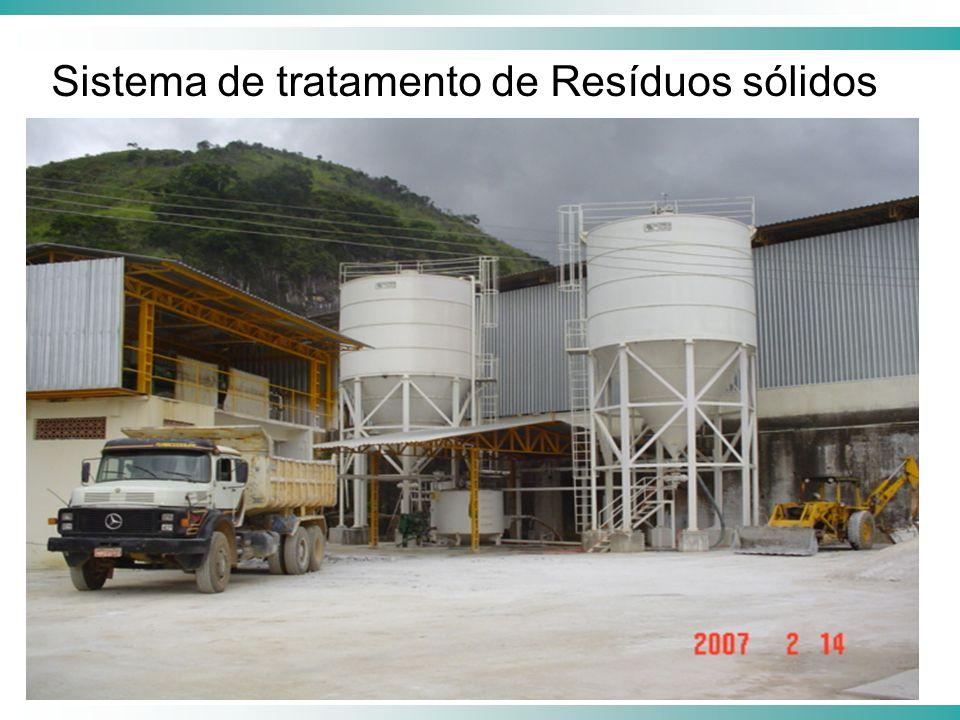 Sistema de tratamento de Resíduos sólidos