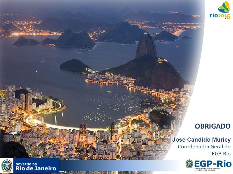 OBRIGADO Jose Candido Muricy Coordenador Geral do EGP-Rio