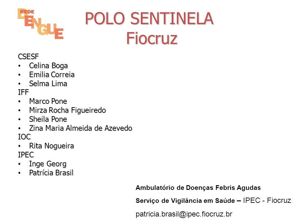 Vigilância Dengue pelo Pólo Sentinela 2010