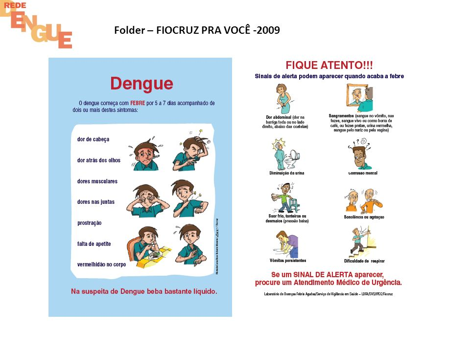 Folder – FIOCRUZ PRA VOCÊ -2009