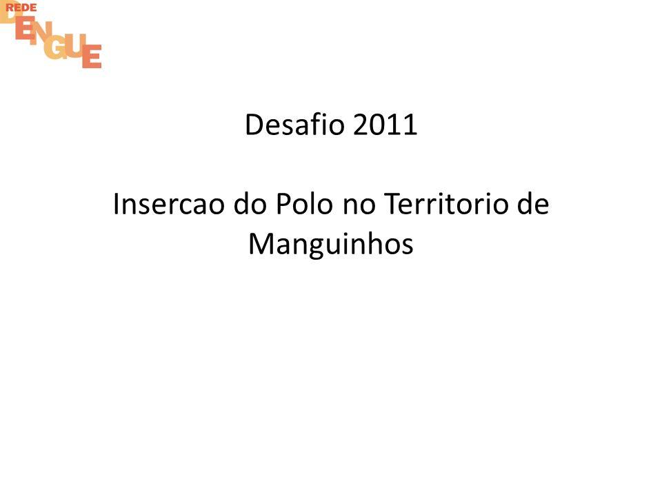 Desafio 2011 Insercao do Polo no Territorio de Manguinhos