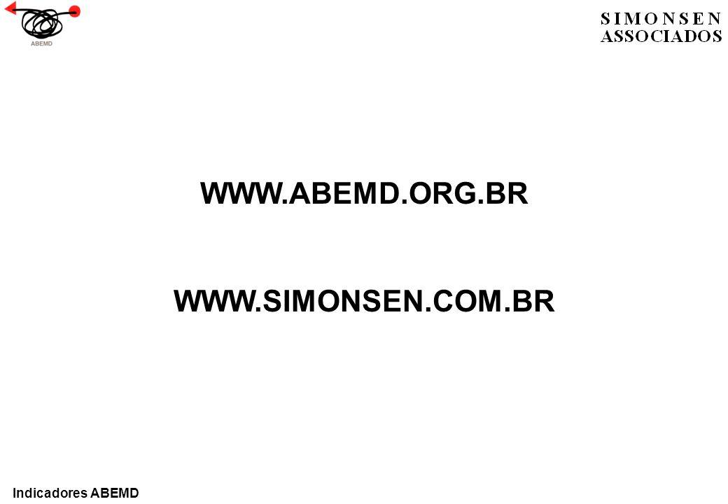WWW.ABEMD.ORG.BR WWW.SIMONSEN.COM.BR Indicadores ABEMD
