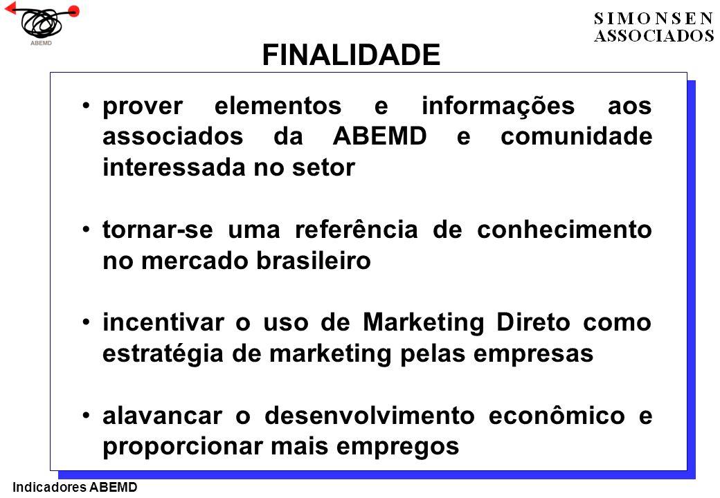 prover elementos e informações aos associados da ABEMD e comunidade interessada no setor tornar-se uma referência de conhecimento no mercado brasileir