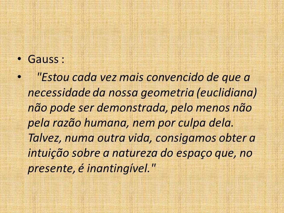 Gauss :